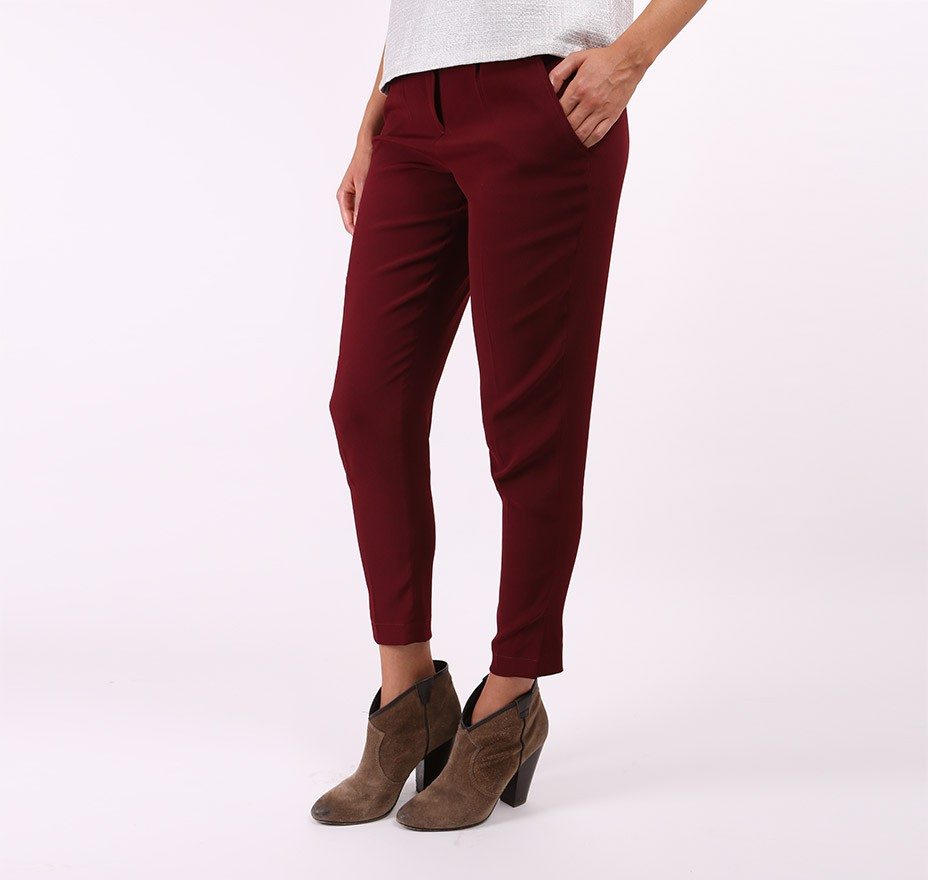 Pantalon 7/8 Suhel - La Maison Borrelly - Made in France - profil