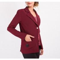 Veste tailleur Vénera - La Maison Borrelly - Made in France - profil