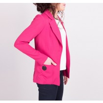 Veste tailleur Aster - La Maison Borrelly - Made in France - profil