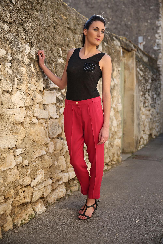 Pantalon Jacinthe - La Maison Borrelly - Made in France